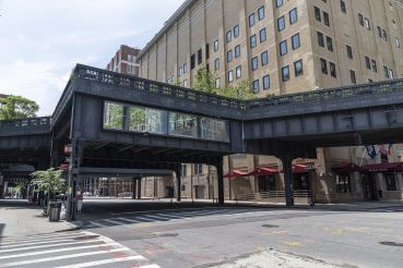 Target and Disney have hosted pop-up events at the same High Line space in previous years.