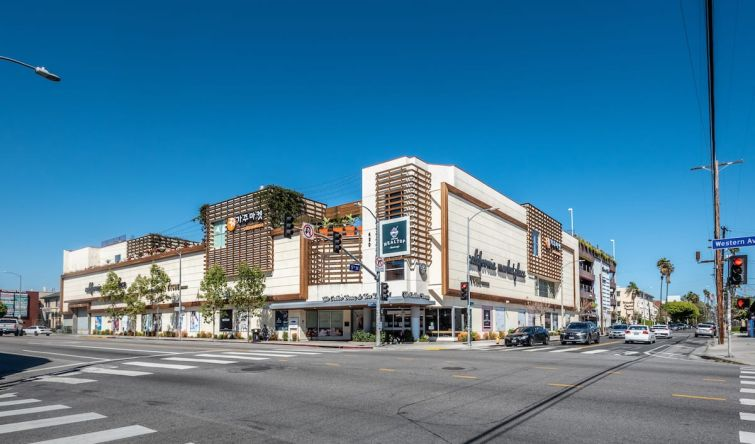 The California Market at 450 South Western Avenue includes more than 80,000 square feet of space.