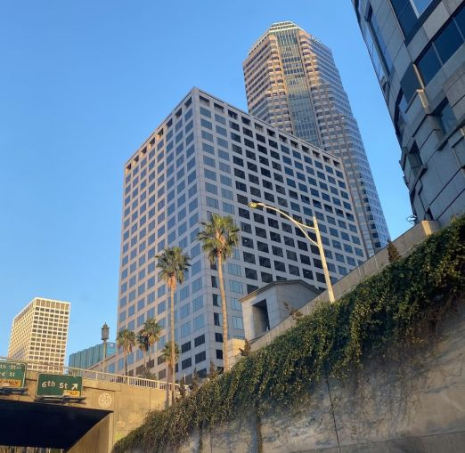 THE BUILDING ON WILSHIRE BOULEVARD Traded for $196 million. It INCLUDES MORE THAN 388,000 SQUARE FEET OF SPACE ADJACENT TO THE 110 FREEWAY IN THE HEART OF THE FINANCIAL DISTRICT.