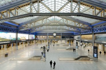 Gov. Cuomo opened the new $1.6 billion Moynihan Train Hall on Jan. 1 to great fanfare.