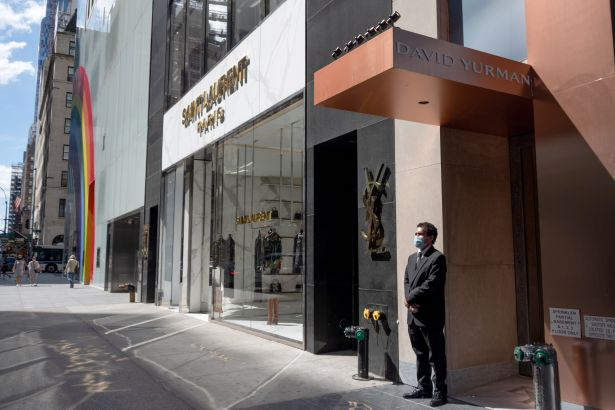 5th Ave Alexi RosenfeldGetty Images New Lows for Luxury High Street Retail Across the US