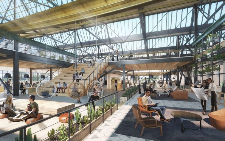 Hackman Capital Partners is behind the Gensler-designed redevelopment at 888 North Douglas Street by the spring.