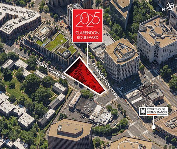 2025 Clarendon Boulevard development site.