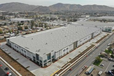 Rockefeller Group developed the property at 10965 Banana Avenue in the city of Fontana in San Bernardino County as part of a joint venture with MBK Real Estate.