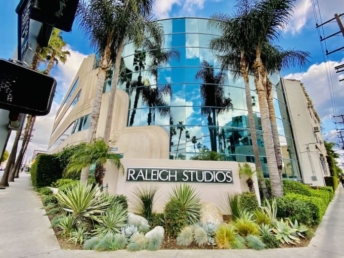 Raleigh Studios Hollywood at 5300 Melrose Avenue includes about 309,000 square feet of rentable space across the street from Paramount Pictures.
