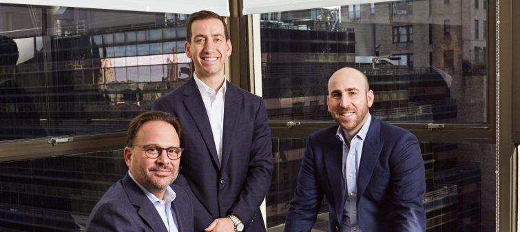 Left to right: Adam Glick, Jason Bordenick and Brian Steiner.