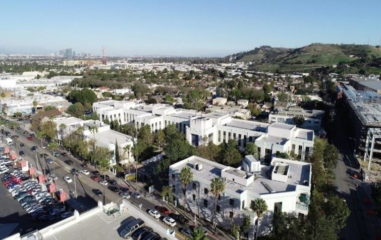 The three-building, 182,176-square-foot, Art Deco trophy property is occupied by Sony's animation department as an extension of its neighboring studio lot in downtown Culver City.