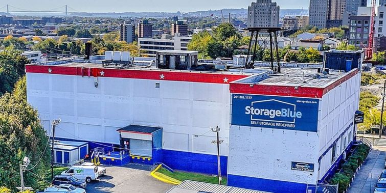 The Storage Blue facility in Jersey City.