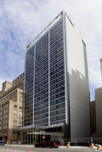 Marriott Fairfield Inn & Suites at 325 West 33rd Street in Manhattan.