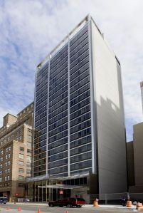 Marriott Fairfield Inn & Suites at 325 West 33rd Street in Manhattan.