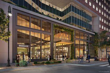 exterior rendering 100 pearl urbanspace