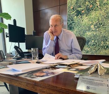 BEN LAMBER, FOUNDER AND CHAIRMAN OF EASTDIL SECURED, HAS DIED AT AGE 82.