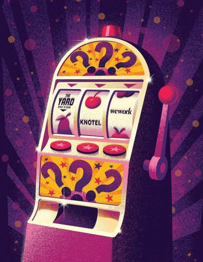 Coworking Slot Machine