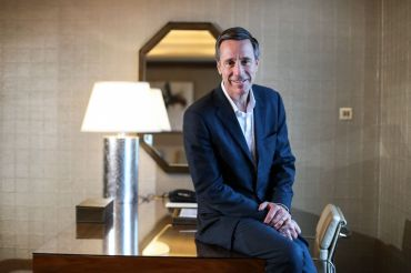 Portrait of Marriott International President & Chief Executive Officer Arne M. Sorenson in Macau, China. 24APR17 SCMP / Nora Tam