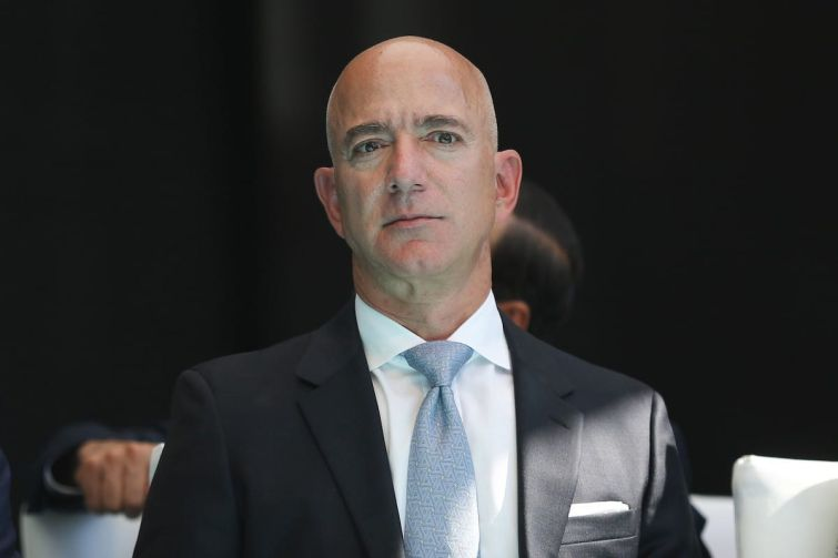 Jeff Bezos announced this week he's stepping down as CEO of Amazon, although he will remain chairman.
