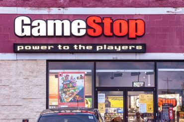 A GameStop in Athens, Ohio.