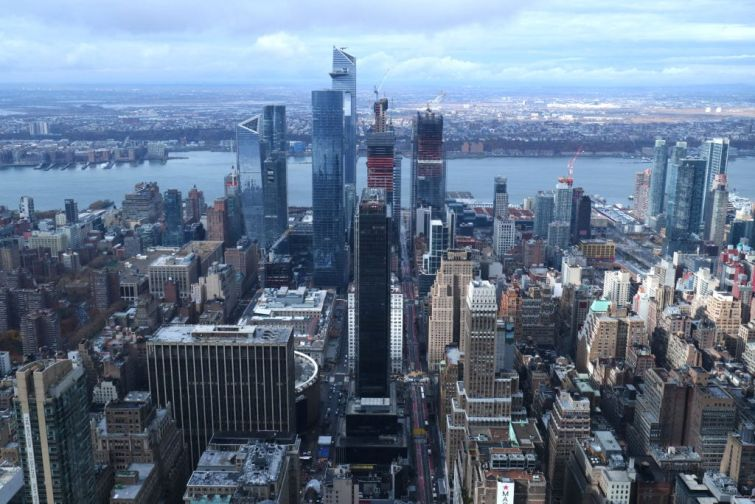 Views From the Empire State Building in New York City