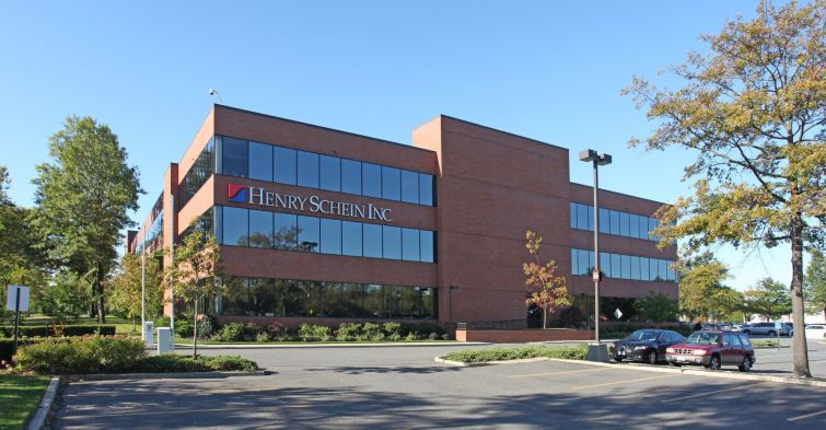 Henry Schein leases the entire office property at 80 Baylis Road in Melville. New York.