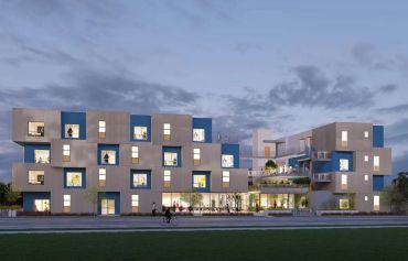 R.D. Olson broke ground on a 73-unit, 94,000-square-foot affordable housing community at 1834 14th Street in Santa Monica.
