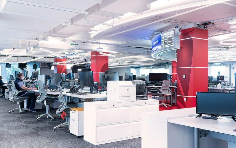 The new NBCU News Group Washington D.C. Bureau.