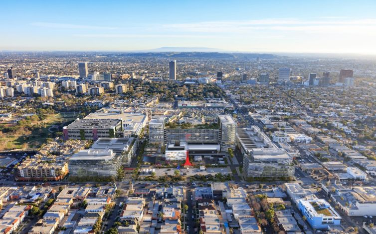 HCP acquired the cultural landmark, located at the corner of West Beverly Boulevard and Fairfax Avenue, for about $750 million in 2019.