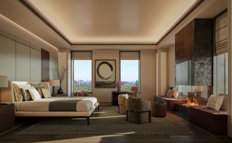 Branded hotel residences, like the Aman New York, offer not only some of the most expensive price tags in New York, but some of the most luxurious amenities for owners. The city is expected to see hundreds of new such units in the next couple of years.