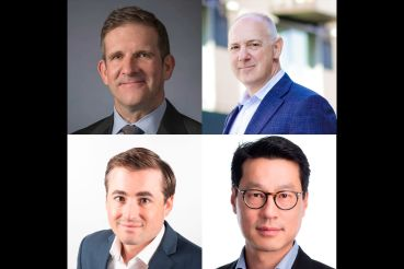 Ted Hallinan, vice president of Property Group Partners, Richard Lake, principal of Roadside Development, Scott Meyer, chief investment officer at PTM Partners and Thomas Wong, partner at Ennead Architects.