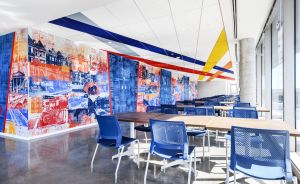DDOT cafeteria.2 DC Department of Transportation Gets New Home in Capitol Riverfront