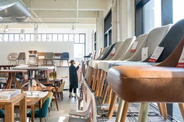 West Elm just opened its new outlet store at Industry City in Sunset Park, Brooklyn, where it has operated its design and prototype shop for several years.