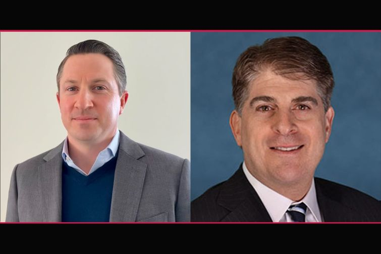 From left, Joseph Shanley, head of acquisition at Haven Capital; David Roth, partner at Ares Real Estate Group.