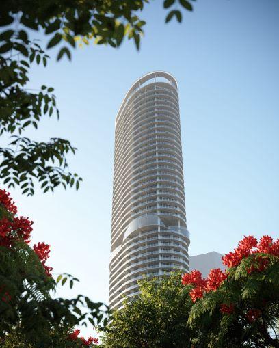 Rendering of Five Park Tower.