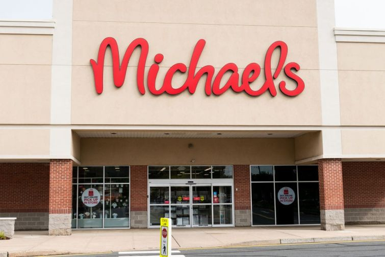 A Michaels store in New Jersey