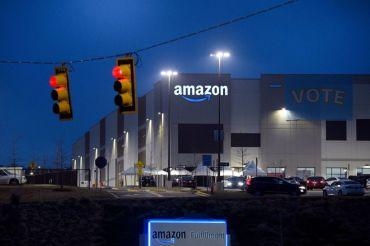 Amazon warehouse in Bessemer, Ala.