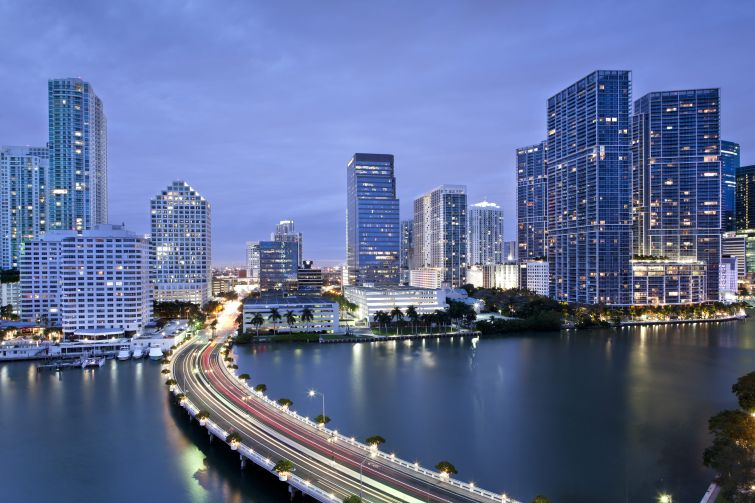 Downtown Miami is shedding its image as a place to leave at the end of the workday.