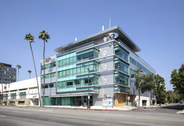 The property on Wilshire Boulevard is anchored by USC's Keck Medical Center.