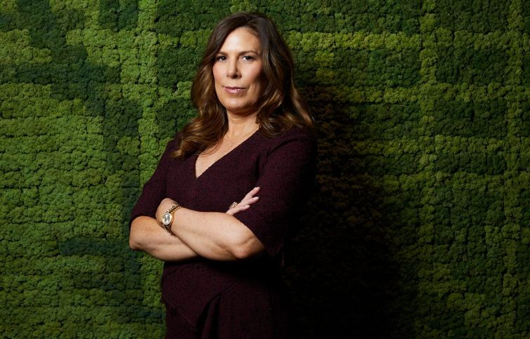 Kara McShane, Wells Fargo's head of commercial real estate.