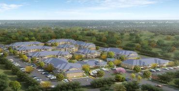 A rendering of La Sienna Apartments in Edinburg, Texas.