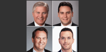 Clockwise from top left: John S. Archibald, Guillermo Olaiz, David Rosenfeld, and Greg Fink.