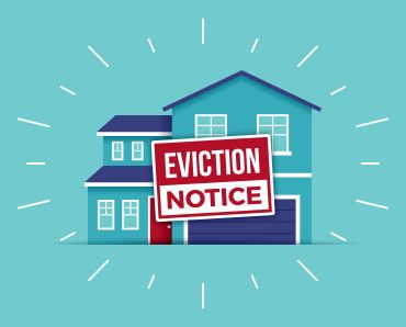 Eviction notice.