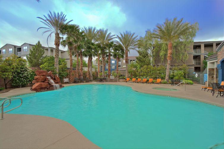 Cabrillo Apartments in Las Vegas.
