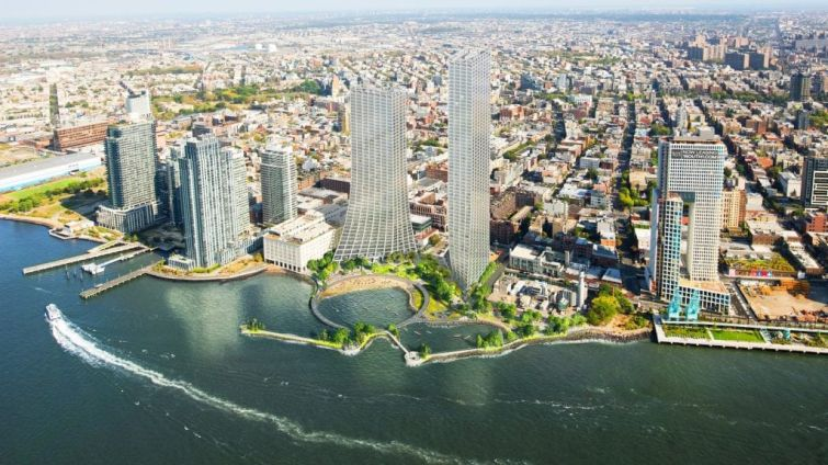 "Two Trees is inching toward the public approval process for ""River Ring,"" a two-tower residential project with public waterfront space in Williamsburg."