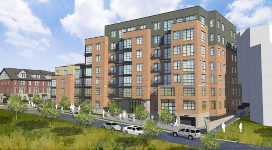 A rendering of what's to come at 1031 N. Vermont Street.