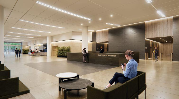 15 MetroTech Lobby