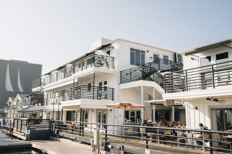 Lido Marina Village in Newport Beach, Calif.
