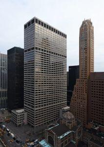 An office building.