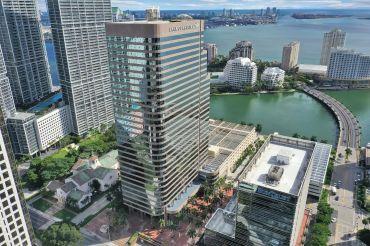 Nuveen Real Estate's 701 Brickell in Miami.
