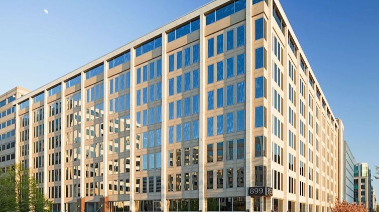 D.C. Department of Health's new space at 899 N Capitol Street NE.