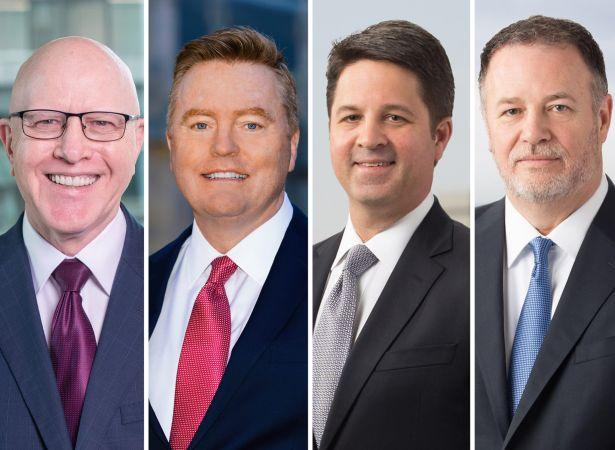 George Gleason, Richard Smith, Brannon Hamblen and Greg Newman