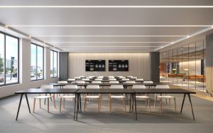 ColumbiaPropertyTrust 80M ConferenceCenter 031521 CXP's Renovation of Office Building to Become DC's First Mass Timber Project