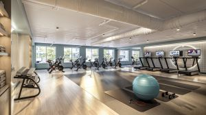 ColumbiaPropertyTrust 80M FitnessCenter 012721 CXP's Renovation of Office Building to Become DC's First Mass Timber Project